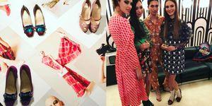 Alla Milano Fashion Week Louboutin presenta le scarpe con i tacchi anni '60
