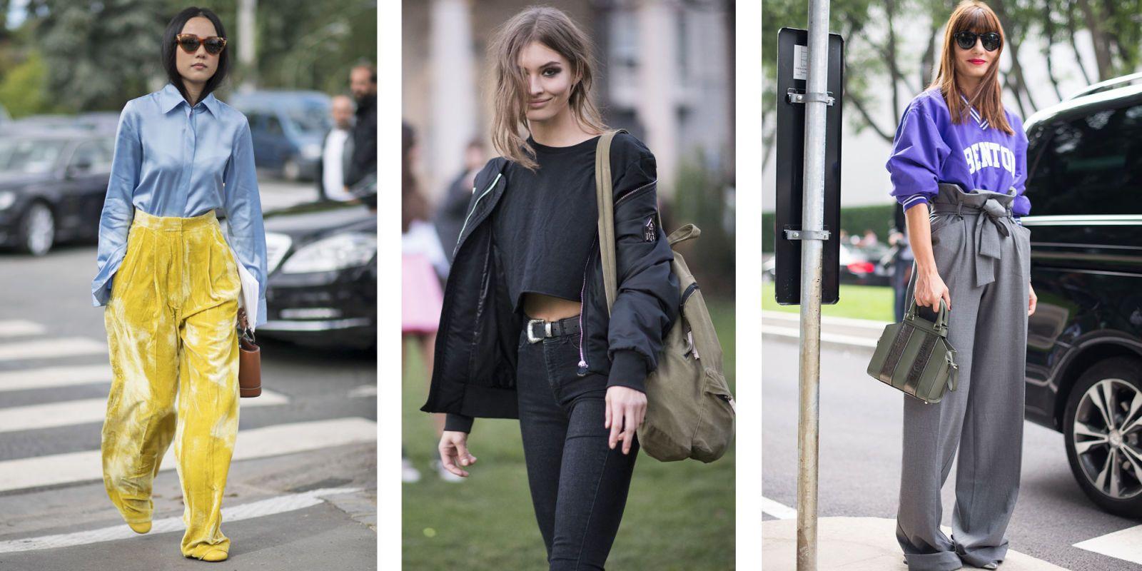 Preferenza Pantaloni a vita alta: gli abbinamenti moda primavera estate 2017 YW98
