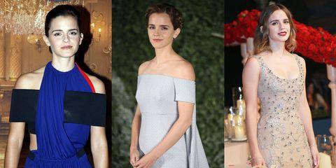 6a79d0c6676b I vestiti di Emma Watson da tour eco-friendly per La Bella e La Bestia