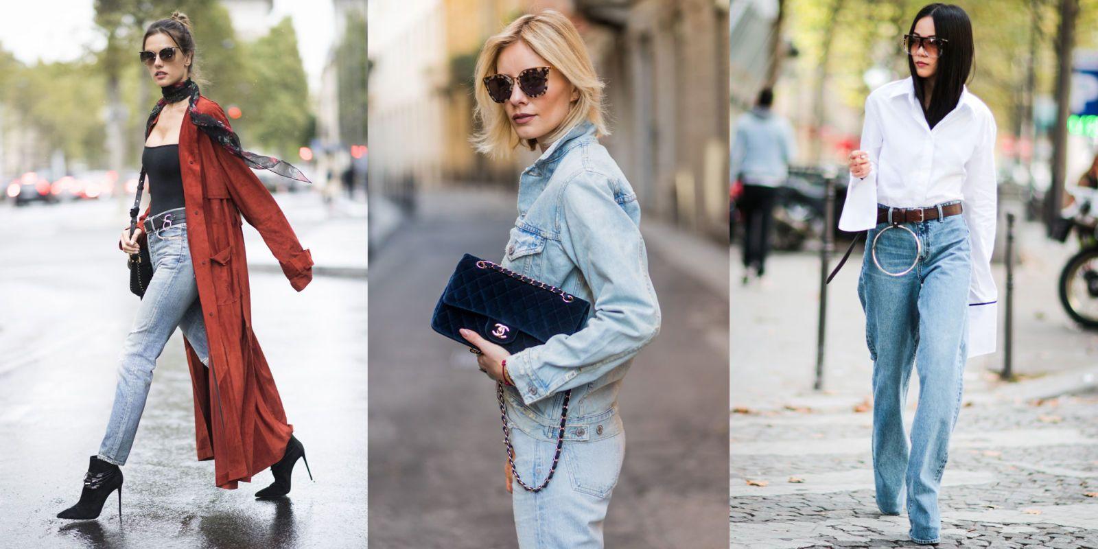 Amato 15 jeans a vita alta moda primavera estate 2017 XB35