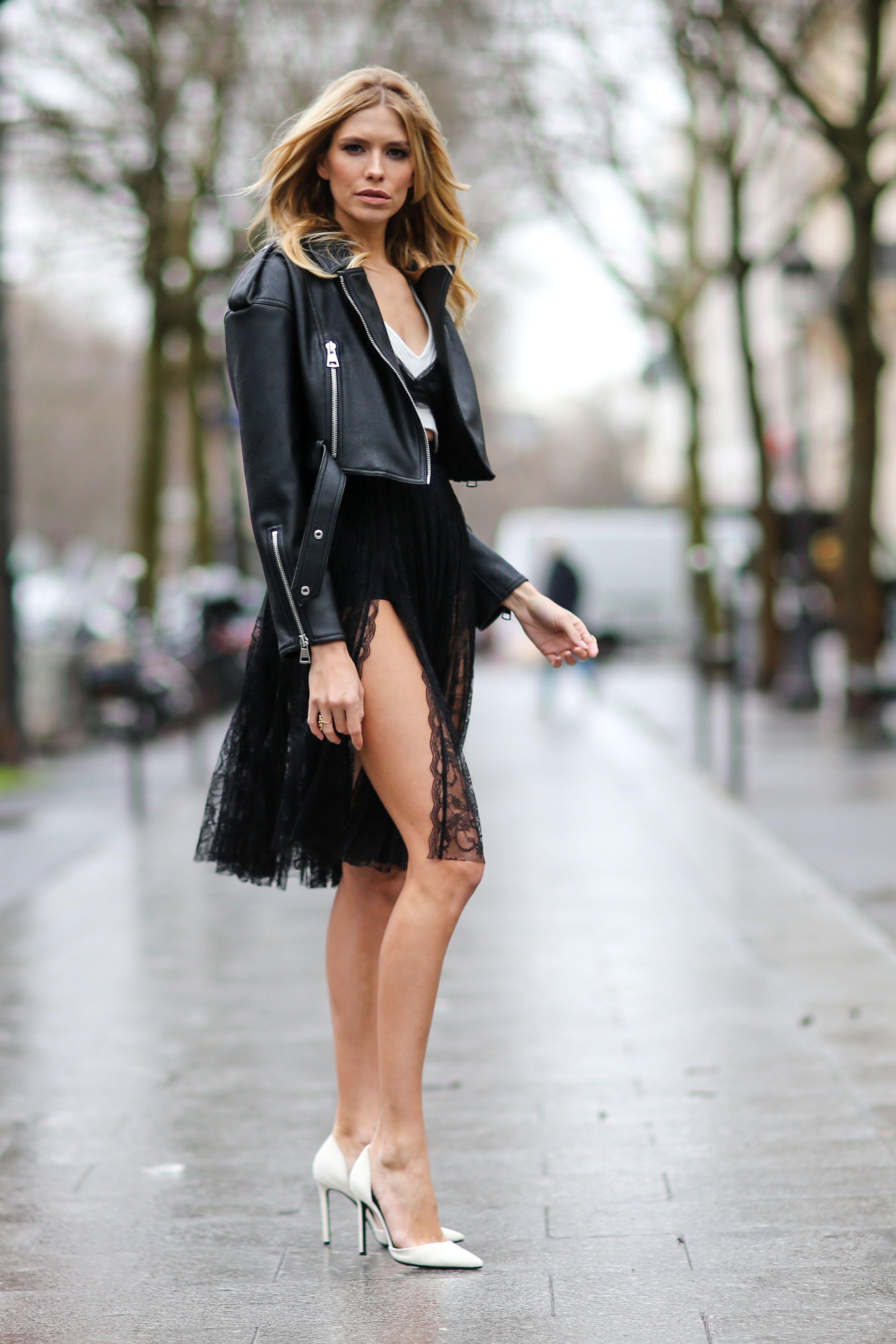 ringiovanire giacca pelle nera