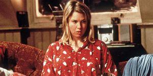 Bridget Jones in pigiama