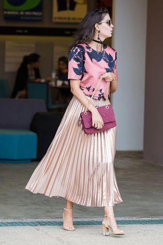finest selection 073f0 0afb8 La gonna plissettata rosa di Zara è la nuova ossessione fashion