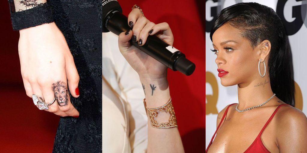 I 33 mini tatuaggi più adorabili di Hollywood