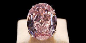 diamante rosa pink star
