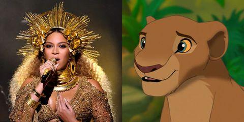 beyoncé nala il re leone