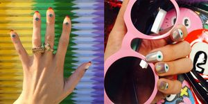 nail art coachella festival