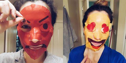 aliexpress seleziona per il meglio codice promozionale Ora puoi scegliere la maschera di bellezza a forma di emoji ...