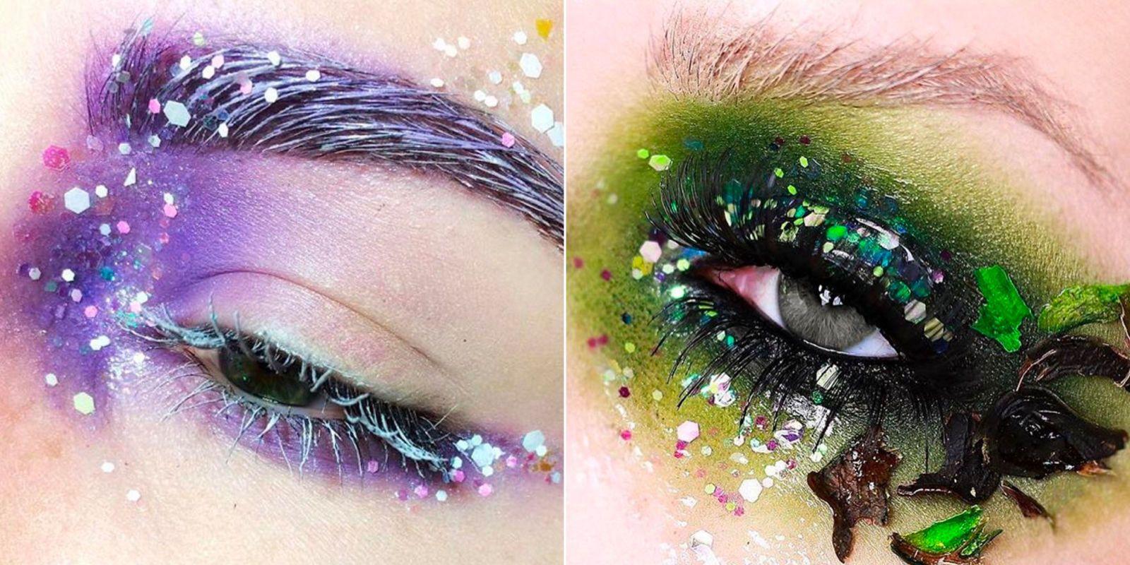Estremamente Il make-up più sexy per andare ai festival? Gli occhi glitter con  ES73