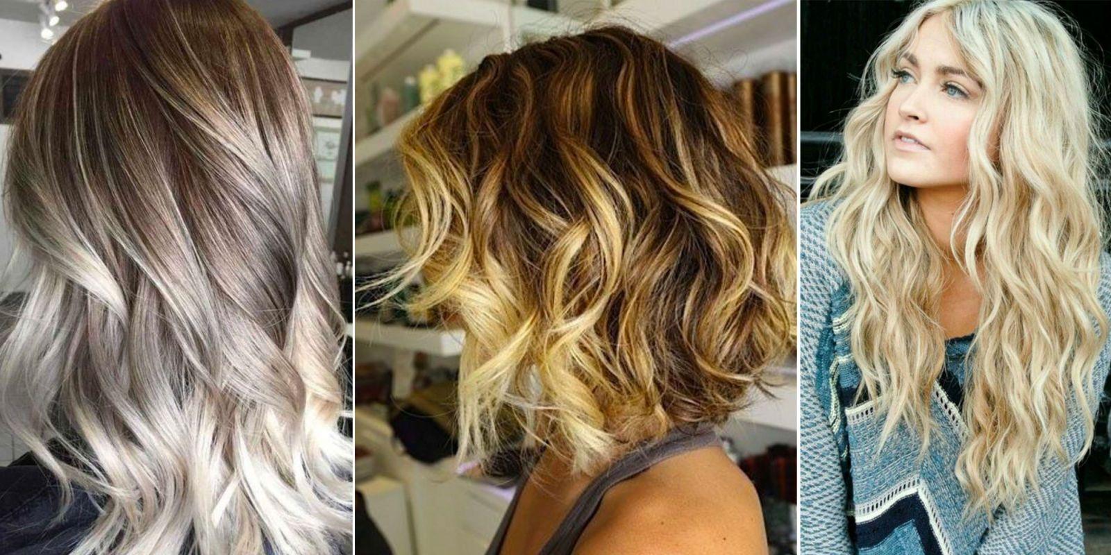 Tagli di capelli con frangia e shatush