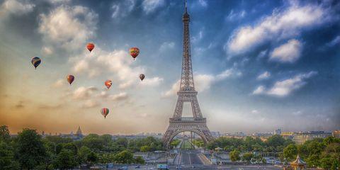 immagine di Parigi dall'alto