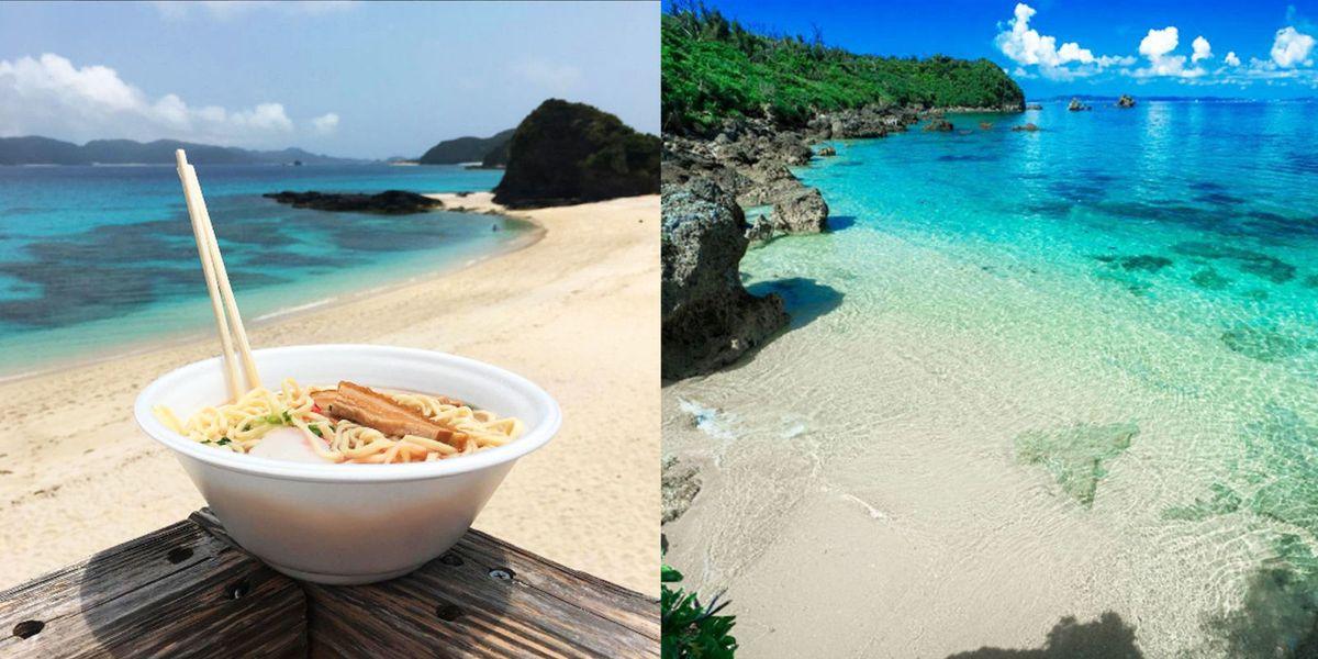 Vola ai tropici in Giappone: un tuffo nel mare delle isole Kerama e sei in paradiso