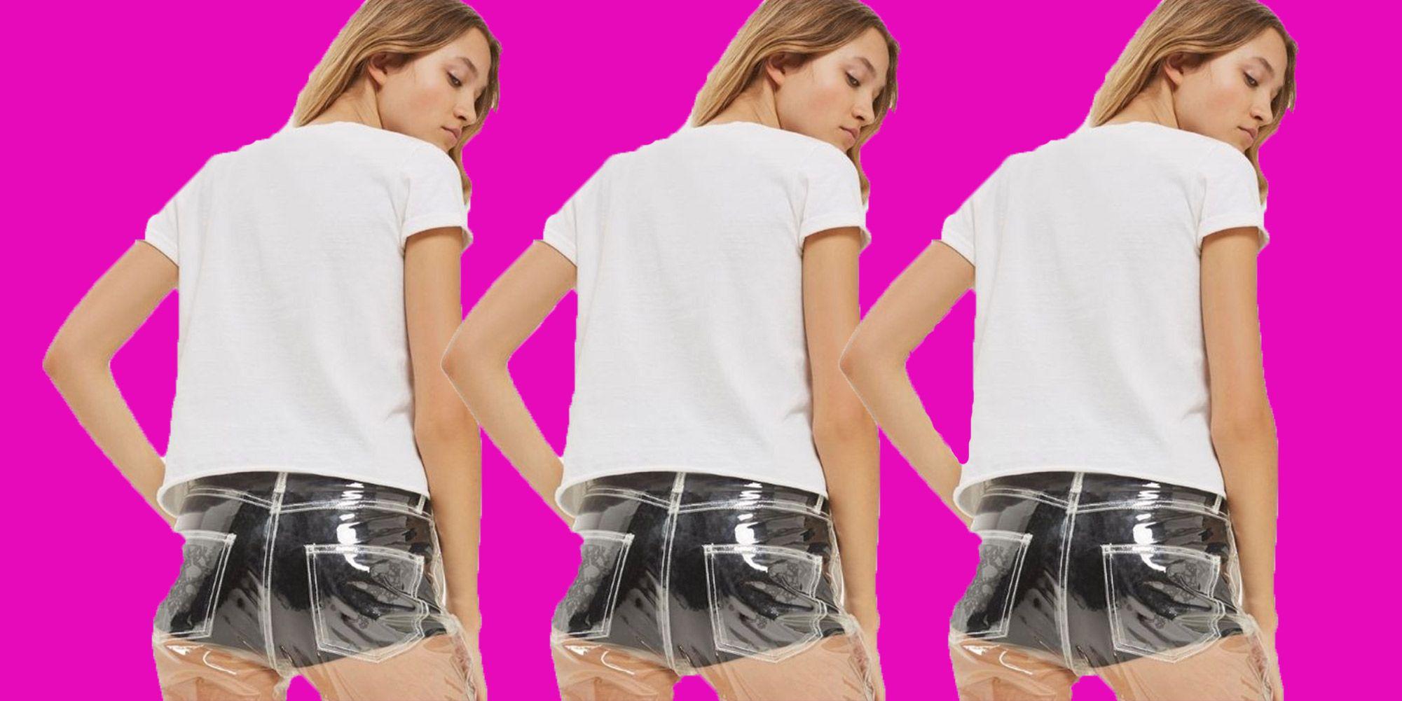 Ecco i jeans trasparenti di topshop. e tu li indosseresti?