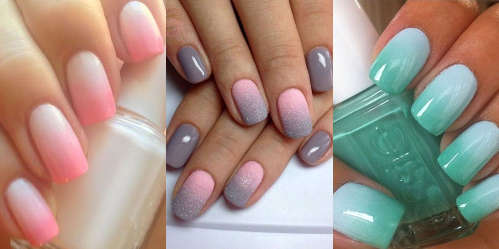 ombre nails, unghie ombre per l\u0027estate