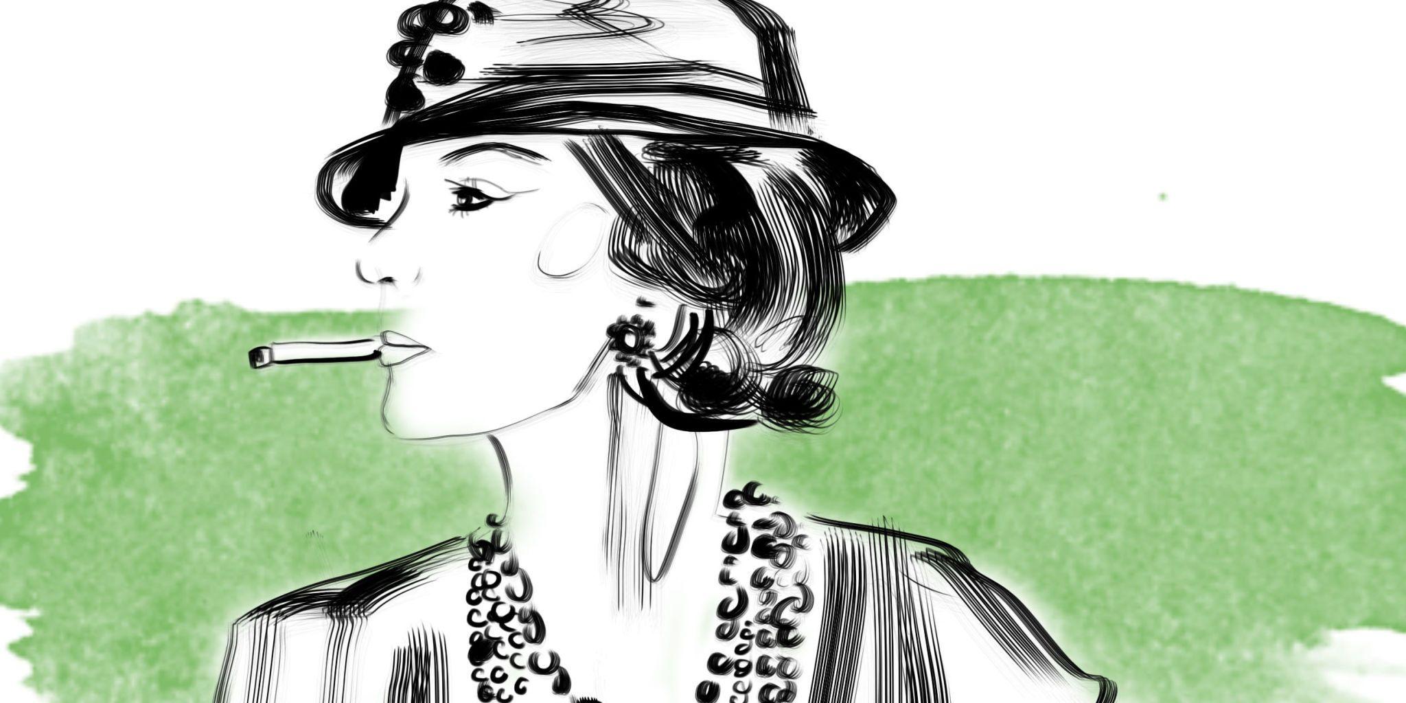 Famoso 7 frasi memorabili di Coco Chanel CL97