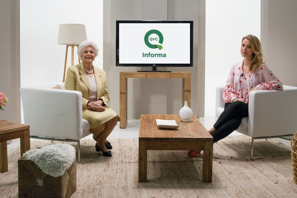 qvc skechers presenter