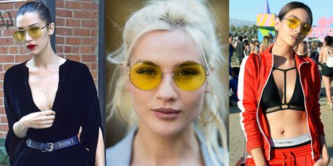 Gli occhiali con lenti gialle stanno spopolando, sono funky e cool con ogni outfit  e hanno con un plus in più, scoprilo!