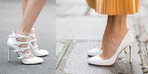 prezzo di strada ampia selezione di design chiaro e distintivo 10 abbinamenti con le scarpe bianche eleganti senza sembrare ...