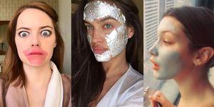 maschere di bellezza star