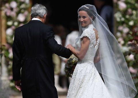 Matrimonio Pippa Middleton : Pippa middleton matrimonio e abito da favola