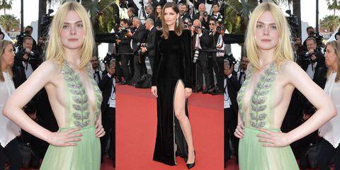 promo code 17658 37e2d A Cannes 2017 si indossano solo abiti scollati e spacchi ...