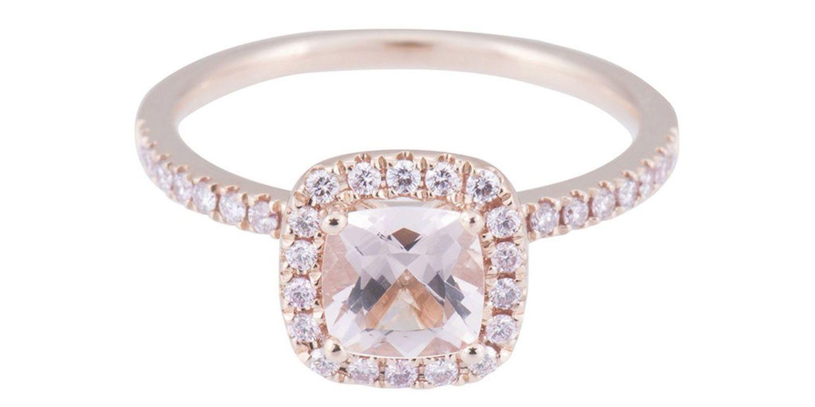 Top 28 anelli di fidanzamento rosa di cui ti innamorerai subito EG74