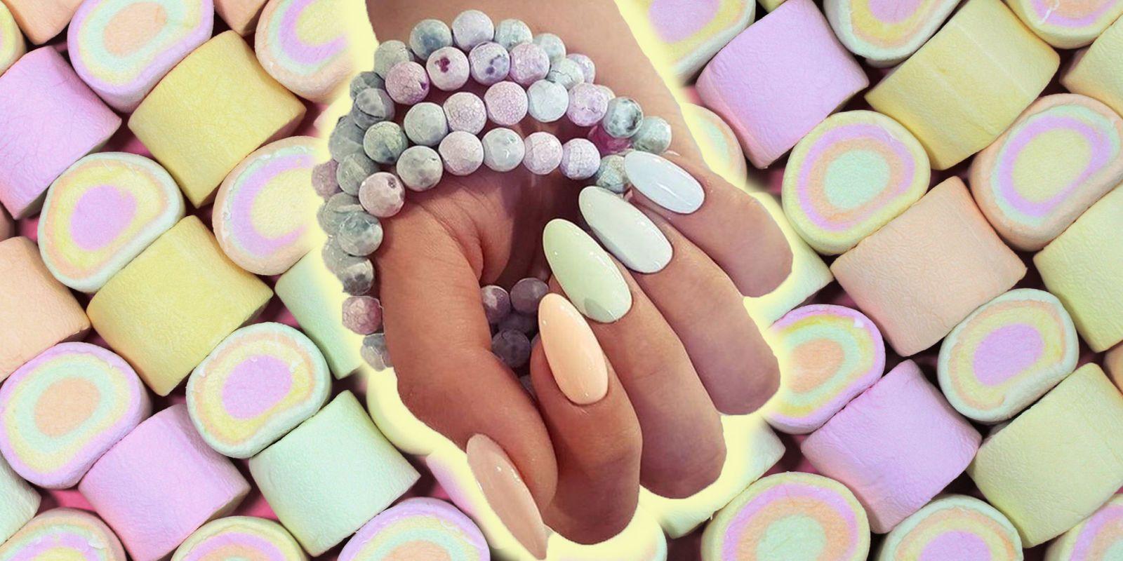 unghie pastello, smalti pastello estate