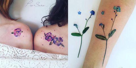 Tatuaggi Fiori Bianchi.Se Vuoi Un Tattoo Romantico Devi Vedere Questi Che Sembrano Con I