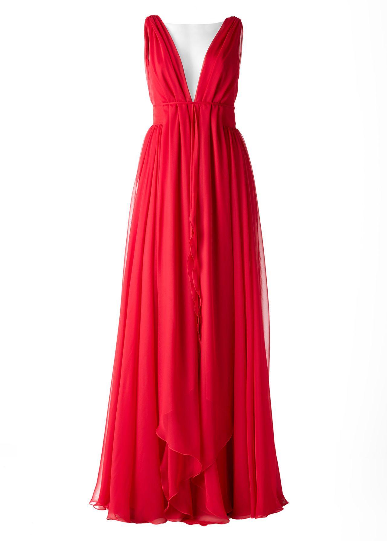 Modelli di vestiti rossi