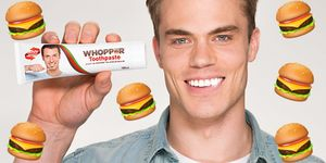 dentifricio gusto hamburger burger king