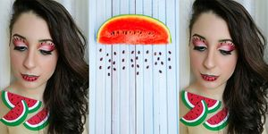 watermelon make up instagram