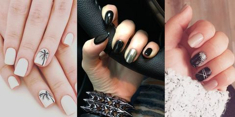 nail art semplici smalto semipermanente