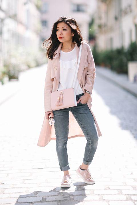 I jeans skinny meglio a vita bassa o a vita alta? Ecco tanti outfit e look di tendenza moda autunno inverno 2017 2018.