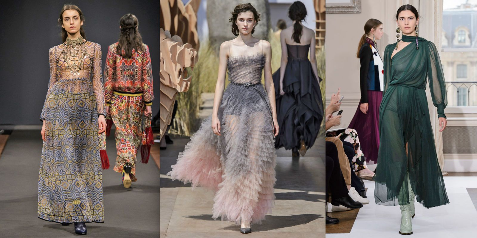 Moda abiti da sera 2018