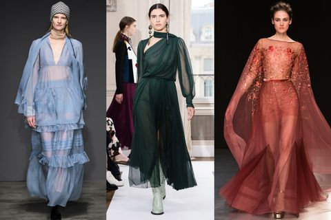 d58511f08907 Vestiti lunghi eleganti  palette color dust. Guarda le immagini degli abiti  da sera di alta moda ...