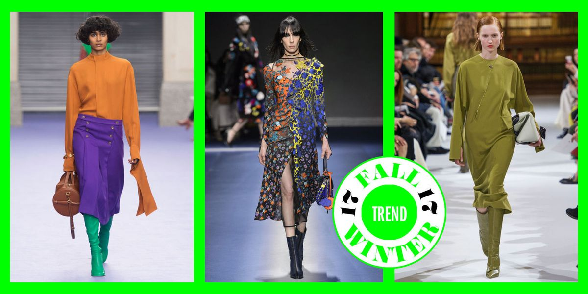 Colori stampe moda autunno inverno 2017 2018 da usare sui for Colori moda inverno 2018