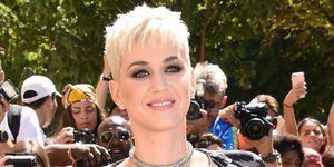 Katy Perry con i capelli corti