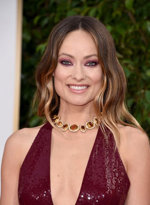 BEVERLY HILLS, CA - JANUARY 10:  Actress Olivia Wilde attends the 73rd Annual Golden Globe Awards held at the Beverly Hilton Hotel on January 10, 2016 in Beverly Hills, California.  (Photo by Steve Granitz/WireImage)