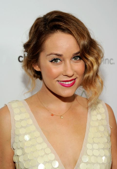WEST HOLLYWOOD, CA - OCTOBER 26:  TV personality Lauren Conrad arrives at The 2nd Annual Autumn Party Featuring A Fashion Show By Yigal Azrouel Benefiting Children's Institute held at The London Hotel on October 26, 2011 in West Hollywood, California.  (Photo by Frazer Harrison/Getty Images for ARCADE)
