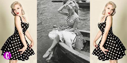 dd1ca8fbb163c abbigliamento anni 50 da sera  le idee moda da copiare per avere un look  originale