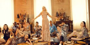 Donatella Versace in music video