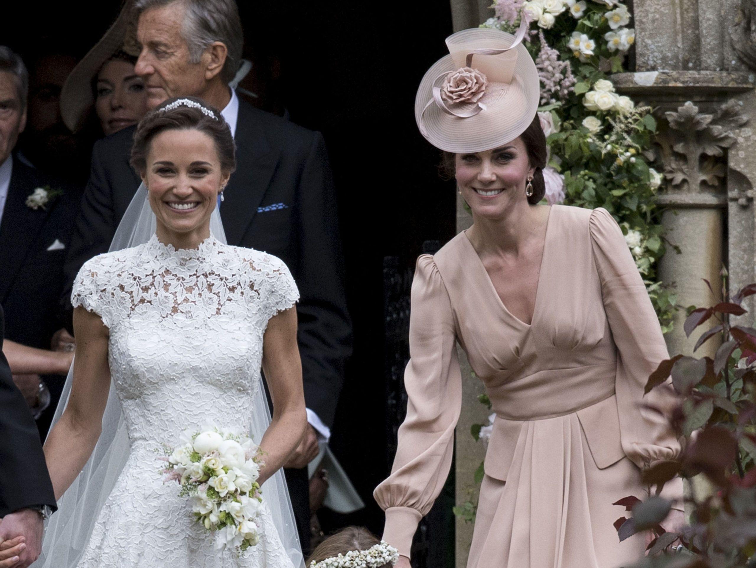Matrimonio Di Pippa : Il look di pippa middleton al matrimonio di harry e meghan
