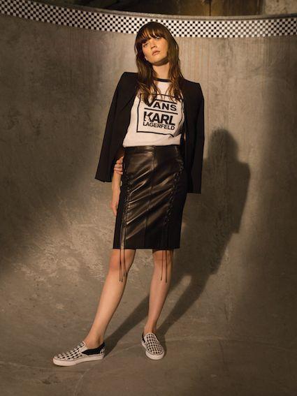 Vans x KARL LAGERFELD, una nuova (e inedita) coppia fashion