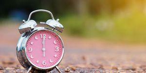 Un orologio simbolo dell'orologio del corpo associato agli organi