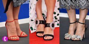 Vuoi indossare tutti i giorni le scarpe e sandali delle star che indossano sul red carpet di Venezia? Puoi farlo, se provi ad abbinali ai jeans