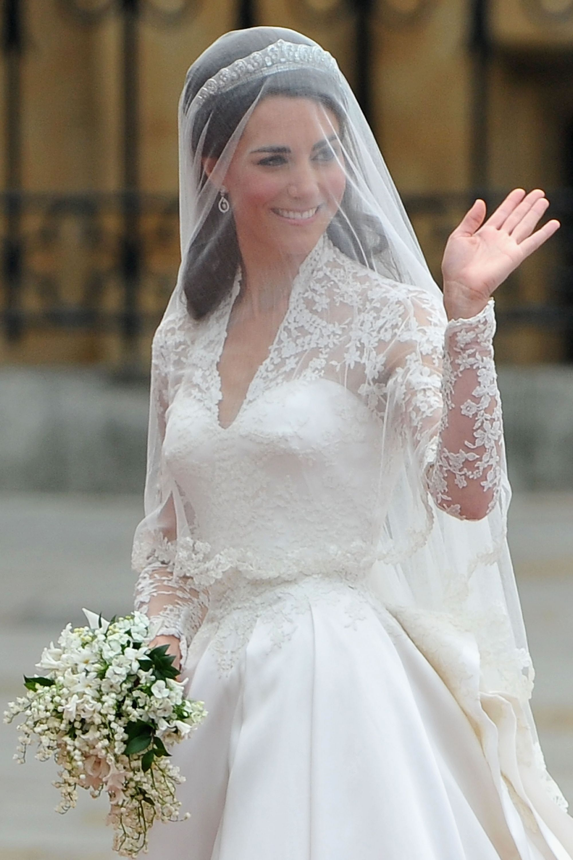 Foto vestito da sposa kate middleton 2