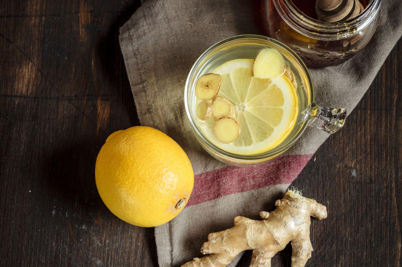 infuso di zenzero e limone per perdere peso