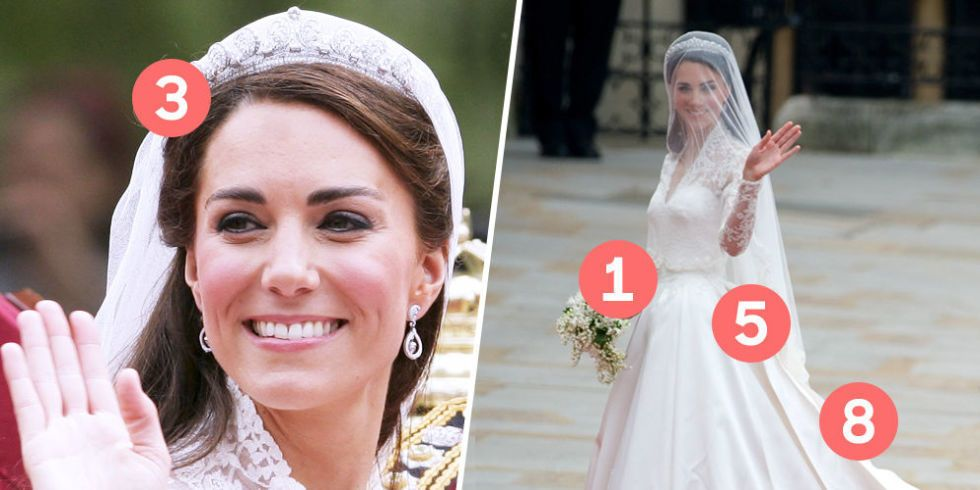 Foto vestito da sposa kate middleton 9