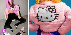 Il marchio italiano di streetwear GCDS, amatissimo da Bella Hadid e Chiara Ferragni, collabora con Sanrio in una capsule per la collezione autunno inverno 17/18: sei pronta a innamorarti subito di t-shirt, maglie crop tricot e accessori con il musetto di Hello Kitty?