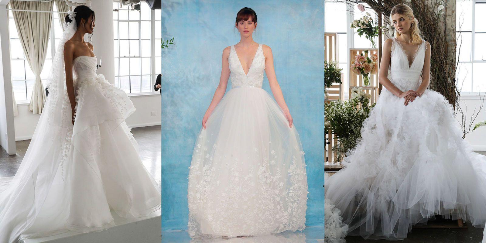 abbastanza Abiti da sposa: 20 modelli da principessa direttamente dalla  GS04